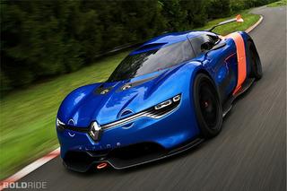 Unveiled: 2012 Renault Alpine A110-50 Concept