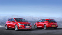 Opel highlights the weight loss on the 2016 Astra