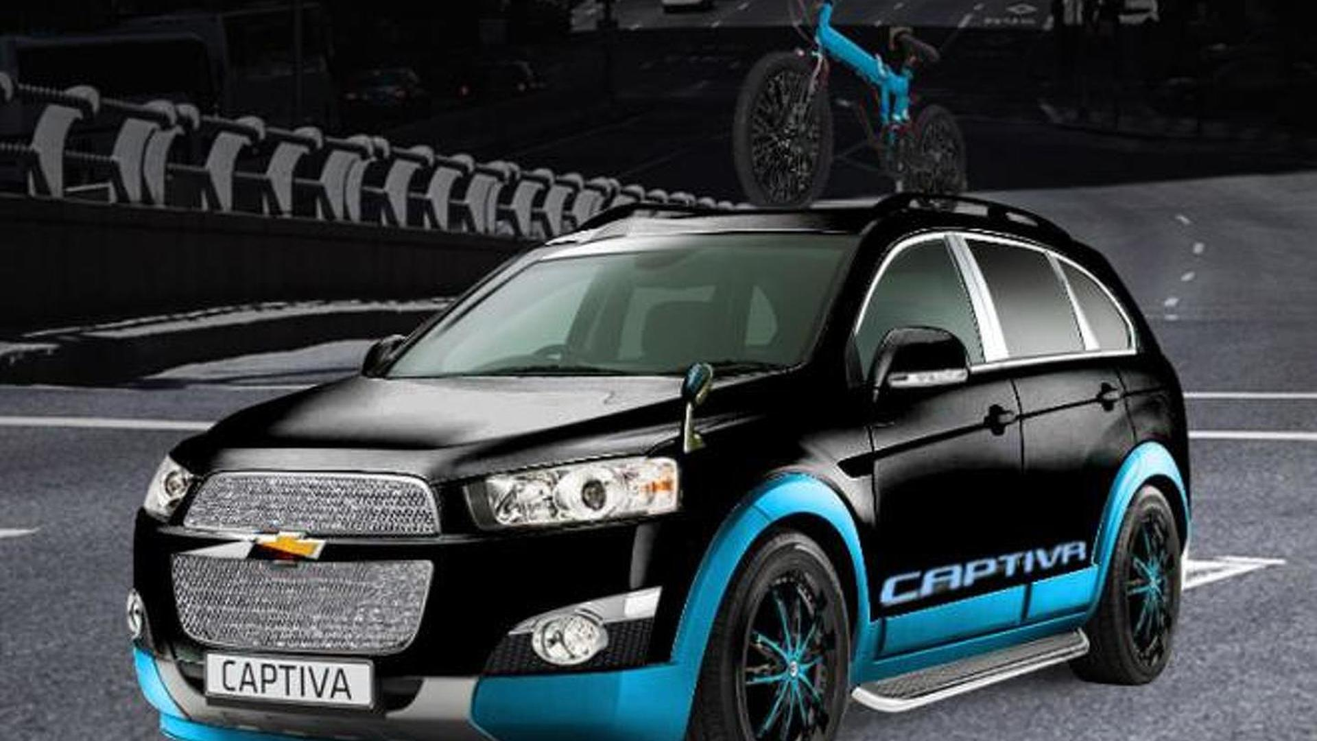 Custom Chevrolet Captiva, Sonic and Camaro heading to Tokyo Motor Show