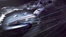 McLaren P1 aerodynamics illustration