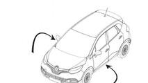 2013 Renault Captur design sketch
