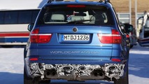 BMW X5 M Prototype Winter Testing in Blue