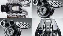 Mercedes AMG New Twin-Turbo 5.5 Litre V8 Engine Revealed