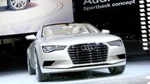Audi A7 Sportback Concept at 2009 Detroit Auto Show
