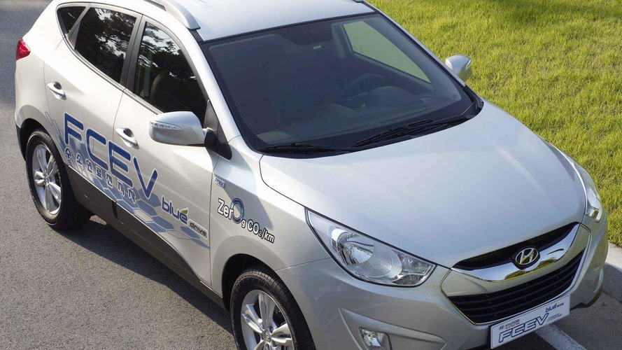 Hyundai Tucson ix Hydrogen Fuel-Cell EV mass production in 2015