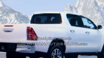 2016 Toyota Hilux Revo makes a comeback in fully revealing images