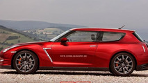 Nissan GT-R Shooting Brake render