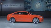 Audi TT Sportback concept live in Paris