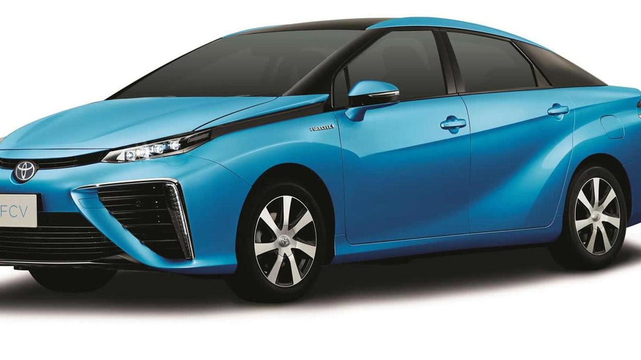 2015 Toyota FCV production body
