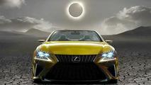 Lexus LF-C2 concept teaser (modified)