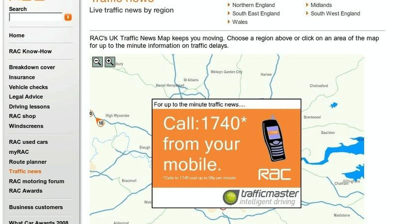 Traffic Updates for you Mobile Phone