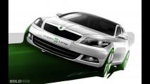Skoda Octavia Green E Line Concept