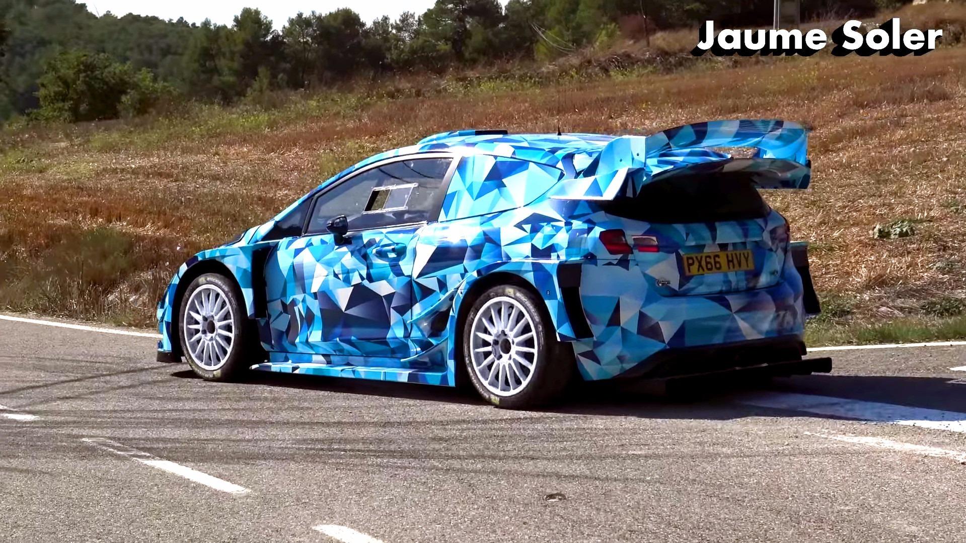 2017 Ford Fiesta WRC s...