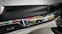 BMW 740Li Individual gets special interior by South African artist