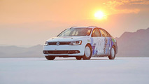 New top speed for hybrids set by modified 2013 Volkswagen Jetta Hybrid