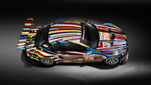 BMW M3 GT2 Art Car by Jeff Koons - Top down