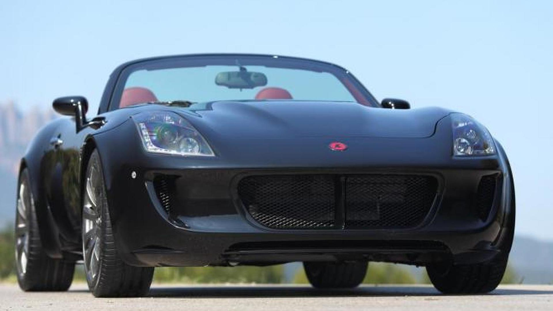 Tauro V8 Spider revealed