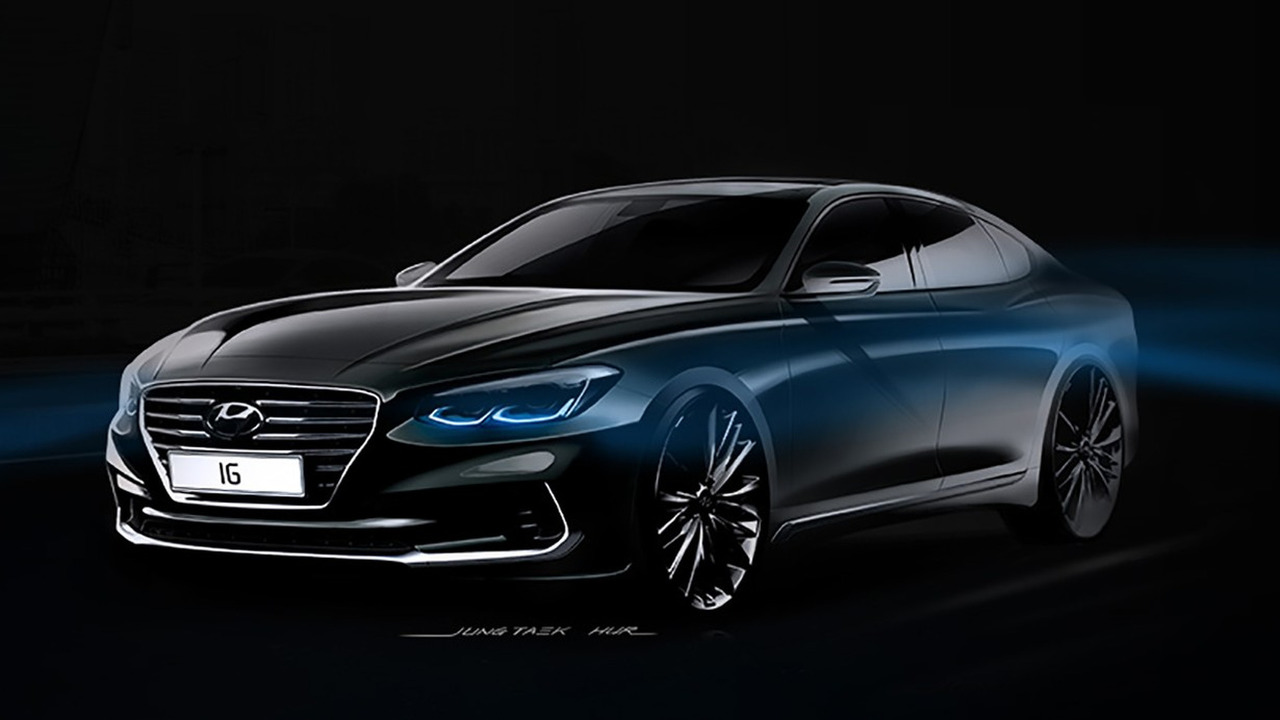 2017 Hyundai Azera teaser