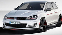 Volkswagen Golf VII GTI gets aero and performance tuning by RevoZport