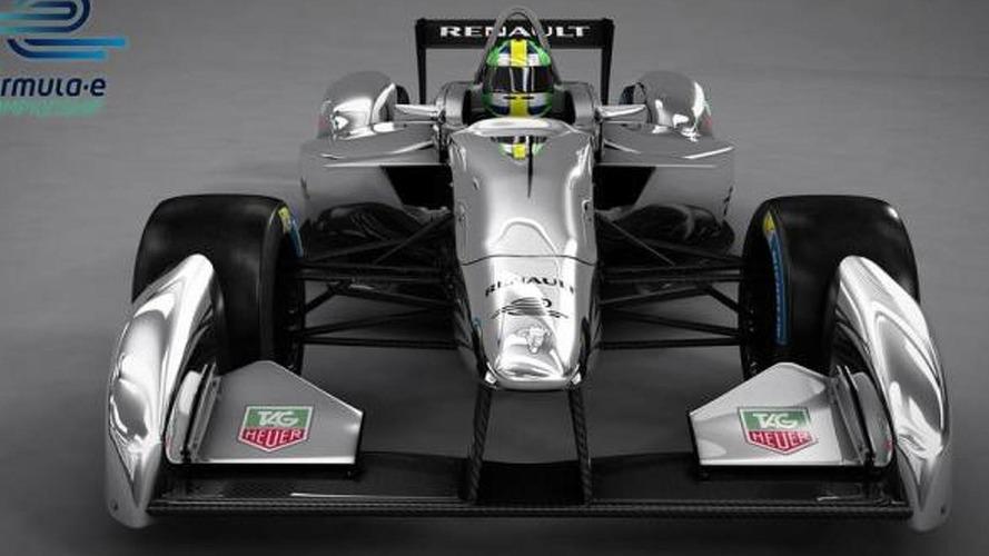 Spark-Renault SRT_01E Formula E race car to debut in Frankfurt