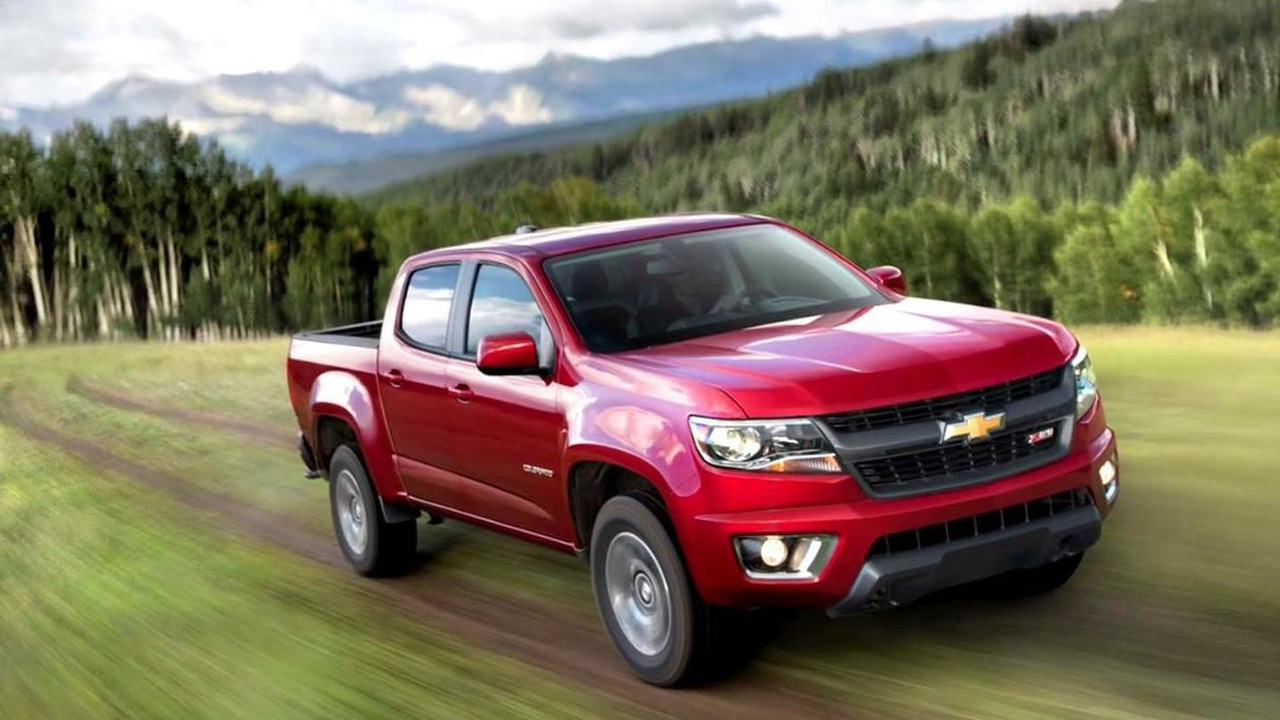 2015 Chevrolet Colorado leaked photo