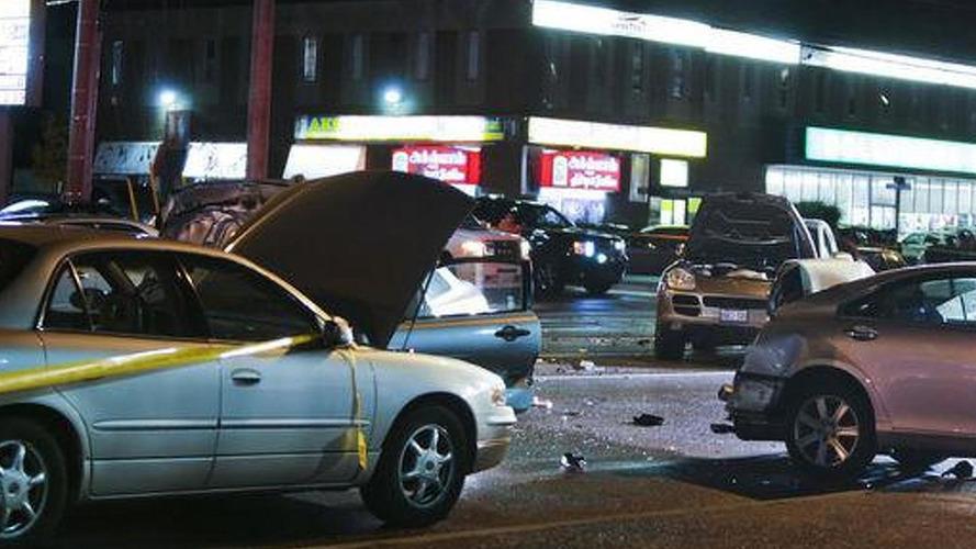 Lincoln Navigator Crash
