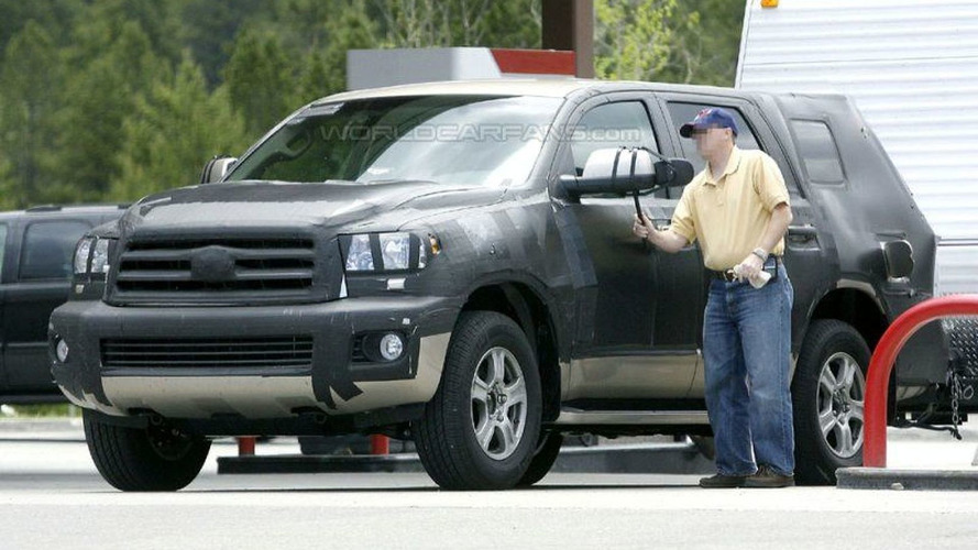 Toyota Sequoia SR5 & Limited Spy Photos