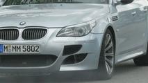 BMW M5 Twin Turbo Spy Photo