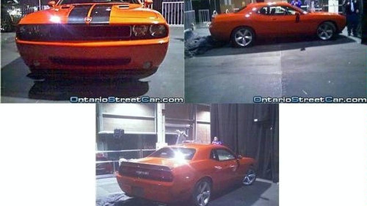 Dodge Challenger at Las Vegas dealership announcement