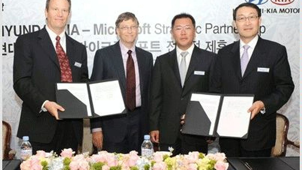 Microsoft and Hyundai-Kia sign long term agreement