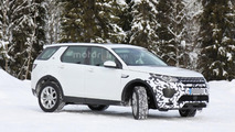 2017 Land Rover Discovery Sport spy photo