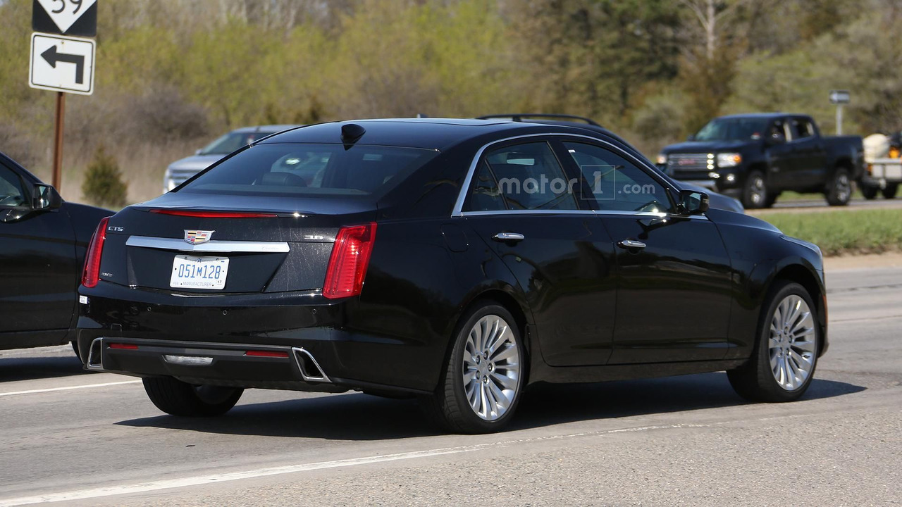 2017 cadillac cts gets minor styling tweaks. Black Bedroom Furniture Sets. Home Design Ideas