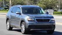 Volkswagen CrossBlue prototype spied in California