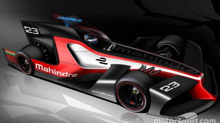 Mahindra and Pininfarina reveal Formula E concept designs