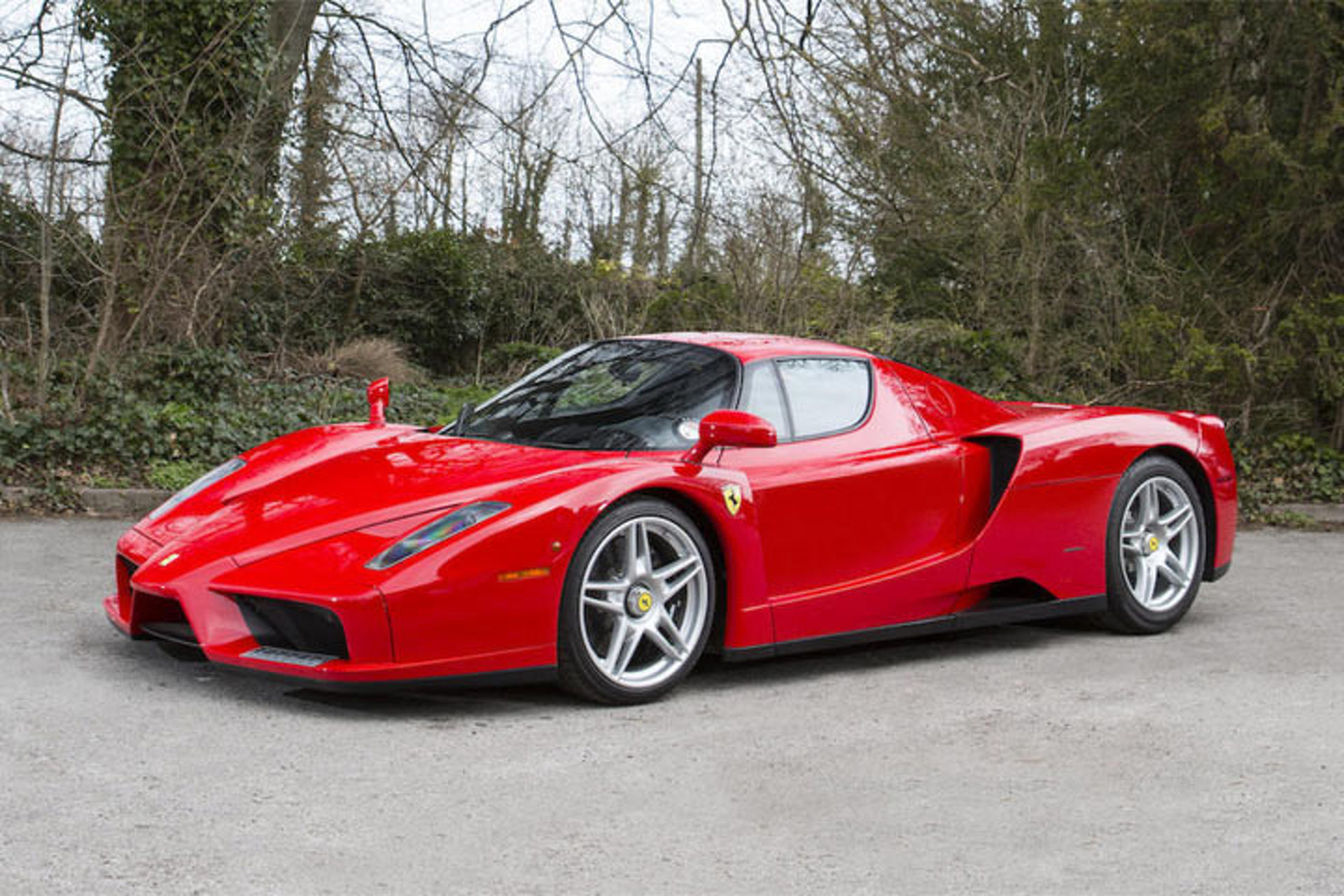 Seized Ferrari Collection of London Crime Boss Goes to Auction
