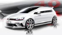 Volkswagen Golf GTI Clubsport teased ahead of Wörthersee debut