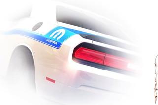 Mopar Teases Custom Challenger for SEMA