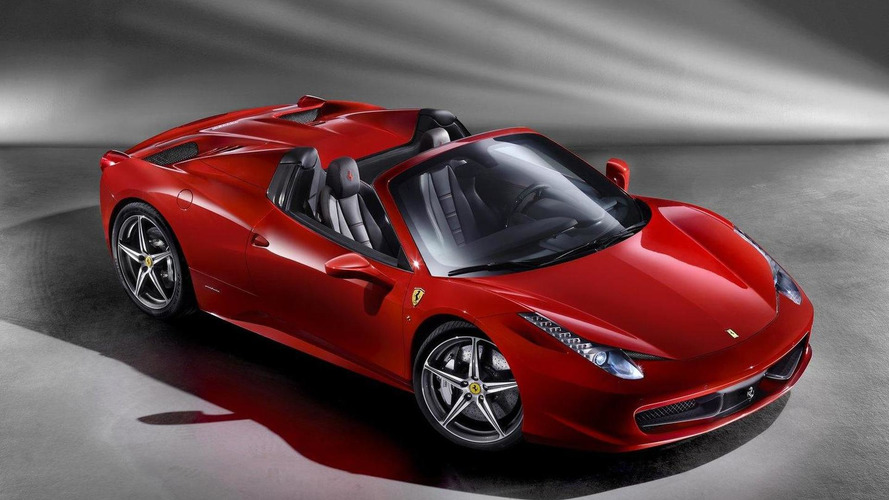 Ferrari 458 Spider Speciale in the works - report