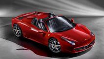 Ferrari 458 Spider European and U.S. prices announced