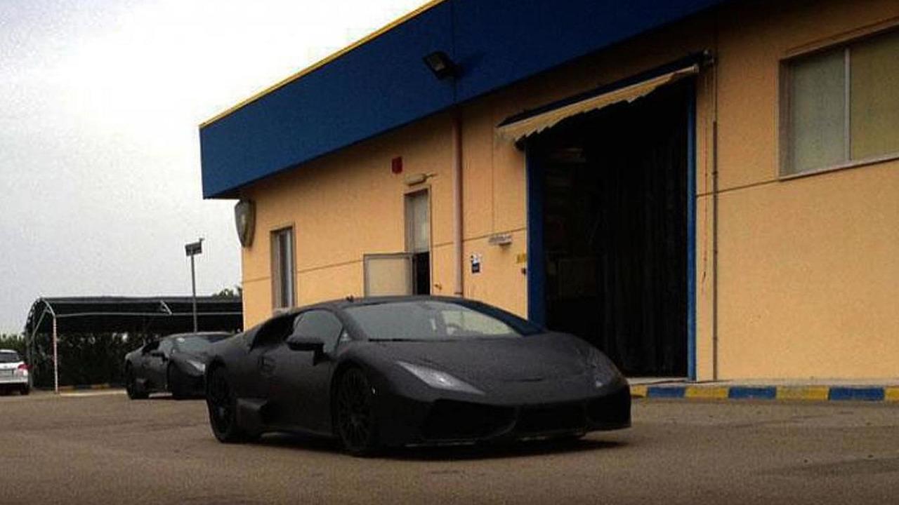 Lamborghini Gallardo replacement spy photo 18.06.2013