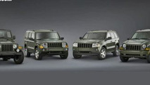 2006 Jeep Commander, Grand Cherokee, Liberty and Wrangler Special Editions