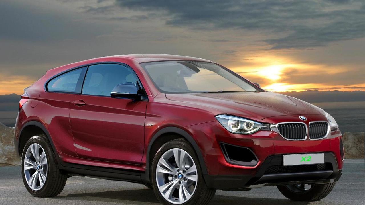 BMW X2 rendering