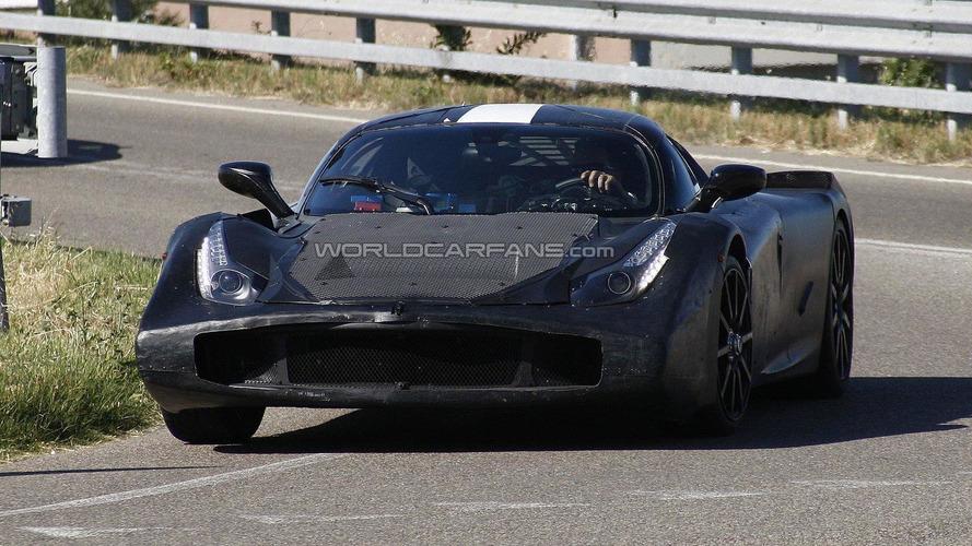 Ferrari Enzo II latest spy photos - now front view