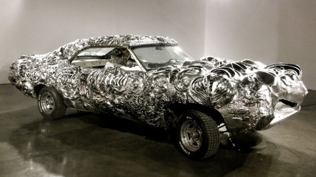 3D-printed liquid metal Ford Torino auctioned for $5,500