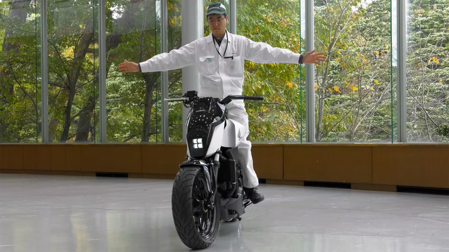 Honda self-balancing bike won't let you down