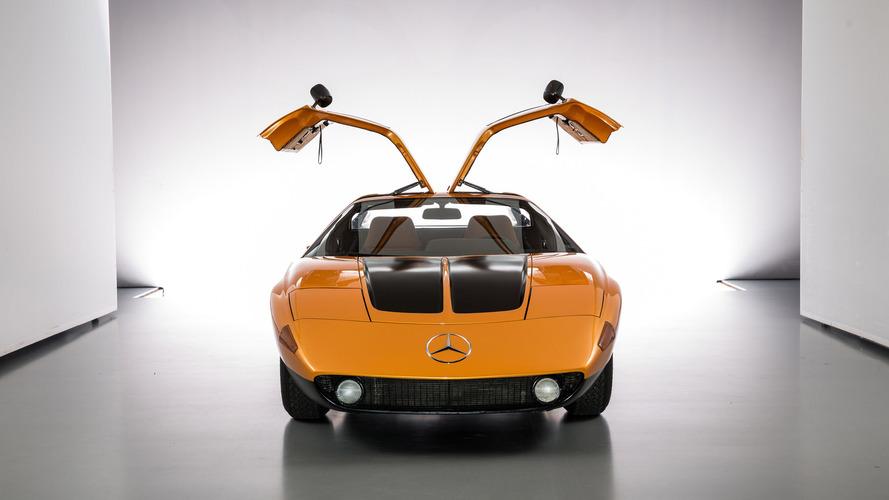 Mercedes C111 (1970) - Trop moderne pour les seventies?