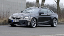 Get a first taste of the BMW M2 facelift via spy shots