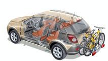 New Opel Antara gets Flex-Fix Carrier System