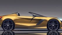 Seat Roadster concept render