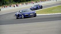 Bayern Munich stars enjoy Audi driving day